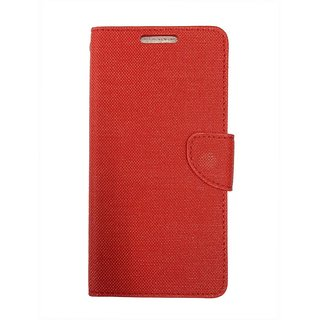 Colorcase Flip Cover Case for Lenovo Vibe X3 - Red