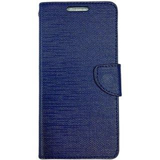 Colorcase Flip Cover Case for Vivo Y27L - Blue