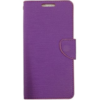 Colorcase Flip Cover Case for Vivo Y51 Y51L - Purple