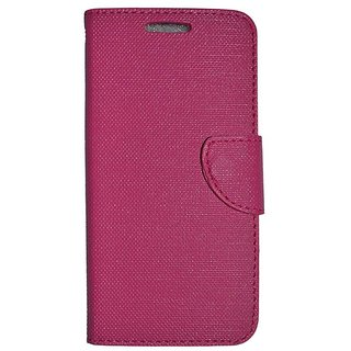 Colorcase Flip Cover Case for Lenovo A7000 - Pink