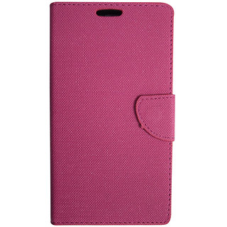 Colorcase Flip Cover Case for Samsung Galaxy A8 - Pink