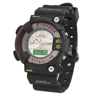 MTG Chronograph Supercool Black Fiber Round Watch - Men