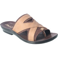 Action Floaters MenS Beige Slip On Sandals