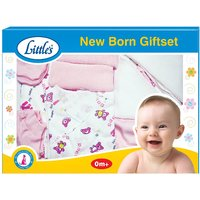 Little's New Born Gift Set - Pink