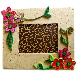 Beautiful Quilling Photo Frame For Home Decor