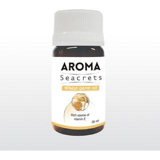 Biotrex Aroma Seacrets Wheat germ Essential Oil - Rich source of Vitamin E (30ml)