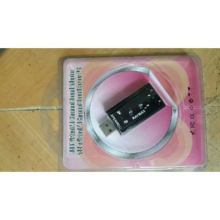 Raymax 7.1 channel usb sound card