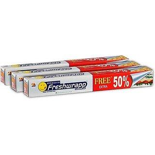 SUSEELA NAMBIATH STORE Hindalco Freashwrap Aluminium foil (6mtrs3pack)