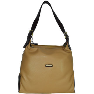 Moochies Ladies Genuine Leather Purse-Beige  In Fashion