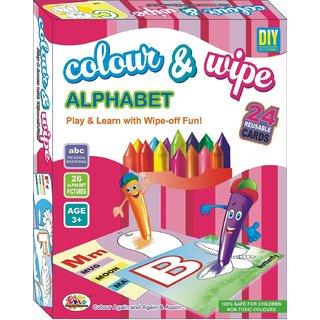Color & Wipe Alphabet Ekta