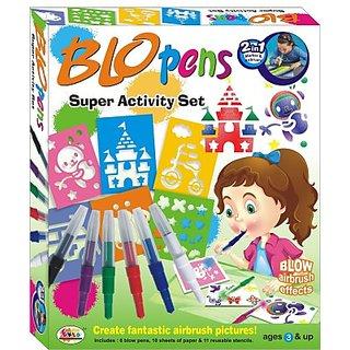 Ekta Blow Pens Super Activity Set