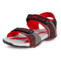 Chevit Mens Xpose Grey TPR Sandals And Floaters