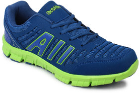 Action MenS Blue  Green Lace Up Sports Shoes