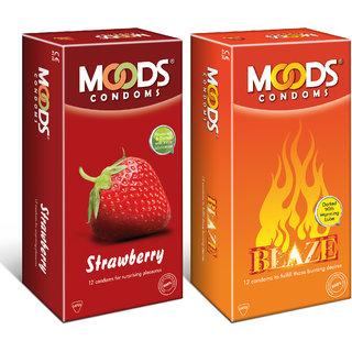 Strawberry 12S + Blaze 12S