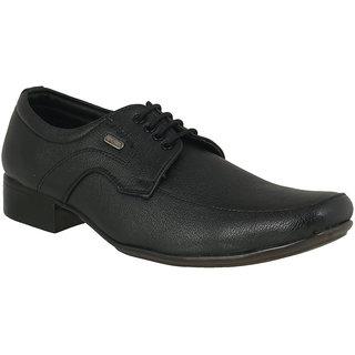 Action Dotcom MenS Black Formal Lace Up Shoes