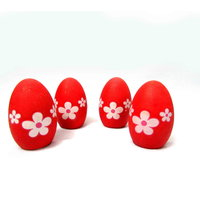 Cute Magic Hatching Grass Growing Eggs For Kids, Red