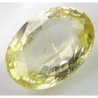 8.25 ratti Jupiter or This is pukraj stone yellow sapphire stone,genuine yellow