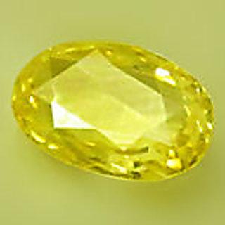 7.25 Ratti Yellow Sapphire or Pukhraj or Purhrrajam or Topaz Stone for Jupiter
