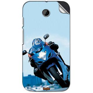 Instyler Mobile Skin Sticker For Moto E