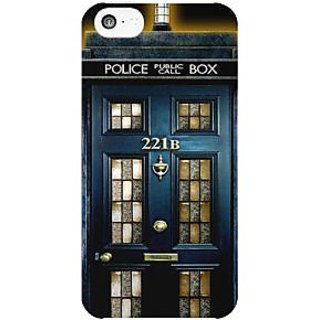 Dreambolic Sherlock-Holmes-221B-Door  back Cover For Apple Iphone 5C