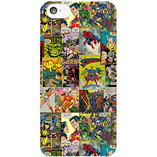 Dreambolic Comic  back Cover For Apple Iphone 5C