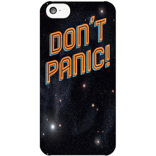 Dreambolic DonT-Panic  back Cover For Apple Iphone 5C