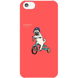 Dreambolic Haters  back Cover For Apple Iphone 5C