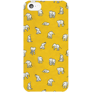 Dreambolic Indian-Baby-Elephants  back Cover For Apple Iphone 5C