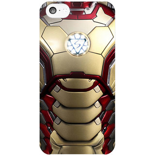 Dreambolic Ironman-Mark-Xlii-Restyled  back Cover For Apple Iphone 5C