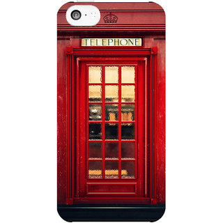 Dreambolic Magical-Telephone-Booth  back Cover For Apple Iphone 5C