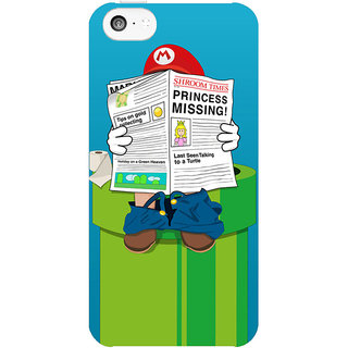 Dreambolic Mario  back Cover For Apple Iphone 5C
