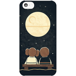 Dreambolic Moon-Gazing  back Cover For Apple Iphone 5C