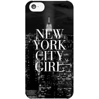 Dreambolic New-York-City-Girl  back Cover For Apple Iphone 5C