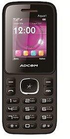 ADCOM 1 dual sim mobile phone-Black  Red
