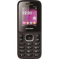 ADCOM 1 Dual Sim Mobile Phone Black  Green