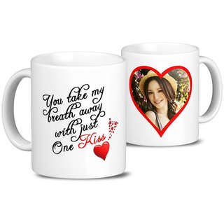 Giftcart - Personalised One Little Kiss Mug
