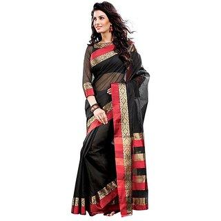 Zoya Black Cotton Saree