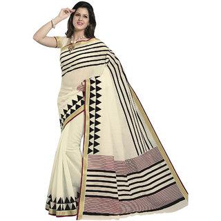 Bhavi Printed Cotton Sari (BHRJ1013)
