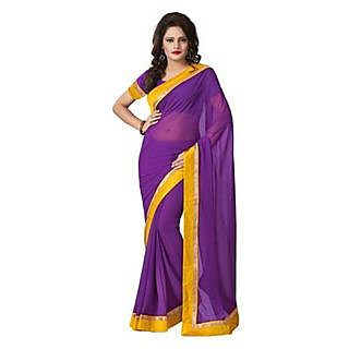 Chiffon Printed Fashion Saree