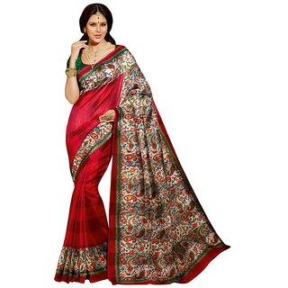 Sudev Bhagalpuri Silk Printed Saree(SF03)