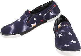 Exotique Mens Blue Sneaker-Casual Shoe (EX0023BL)
