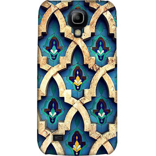 Pick Pattern Back Cover for Samsung I9190 Galaxy S4 mini (MATTE)