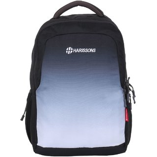 Harissons Inferno Big Black Polyester Backpack