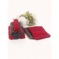 BIANCA 100 Cotton Egyption Face Towel  Set of 8