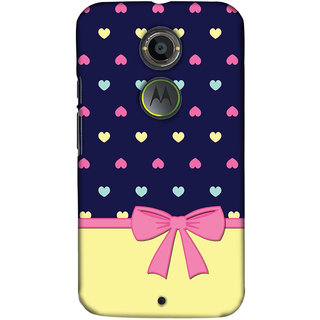 Pick Pattern Back Cover for Motorola Moto X (2nd Gen.) (MATTE)