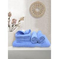 BIANCA 100 Cotton Egyptian Towel 7 PC Set1 Bath Towel 2 Hand Towel  4 Face Towel