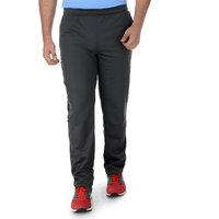 SURLY Dark Grey Black Side Net Polyester Trackpant