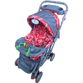 U Smile Reversable Baby Stroller (US8502Red)