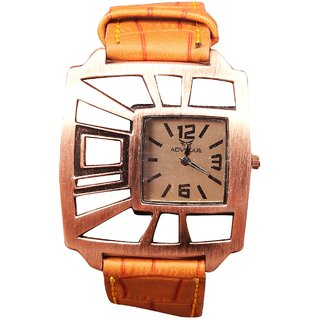 Men Advogue Brown Dial Leather Belt Nice Boys Watches