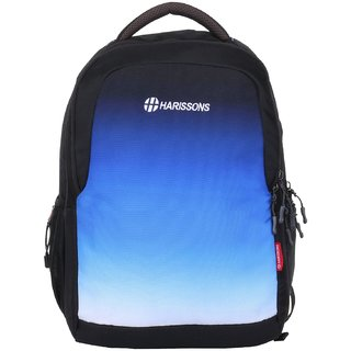 Harissons Inferno Big  Blue Polyester Backpack